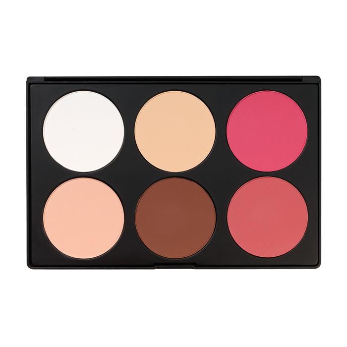 BH Cosmetics Contour & Blush 6 Color Palette 1