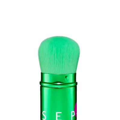Sephora Retractable Powder Brush Metallic Green