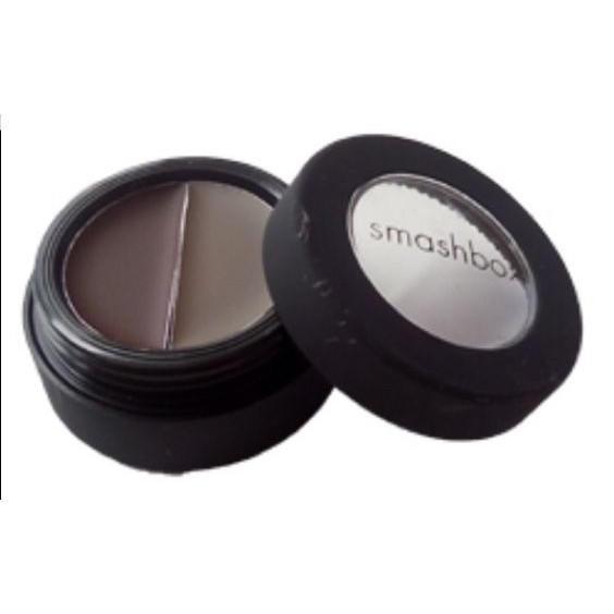 Smashbox Cream Eye Liner Duo Thunder/Midnight Brown