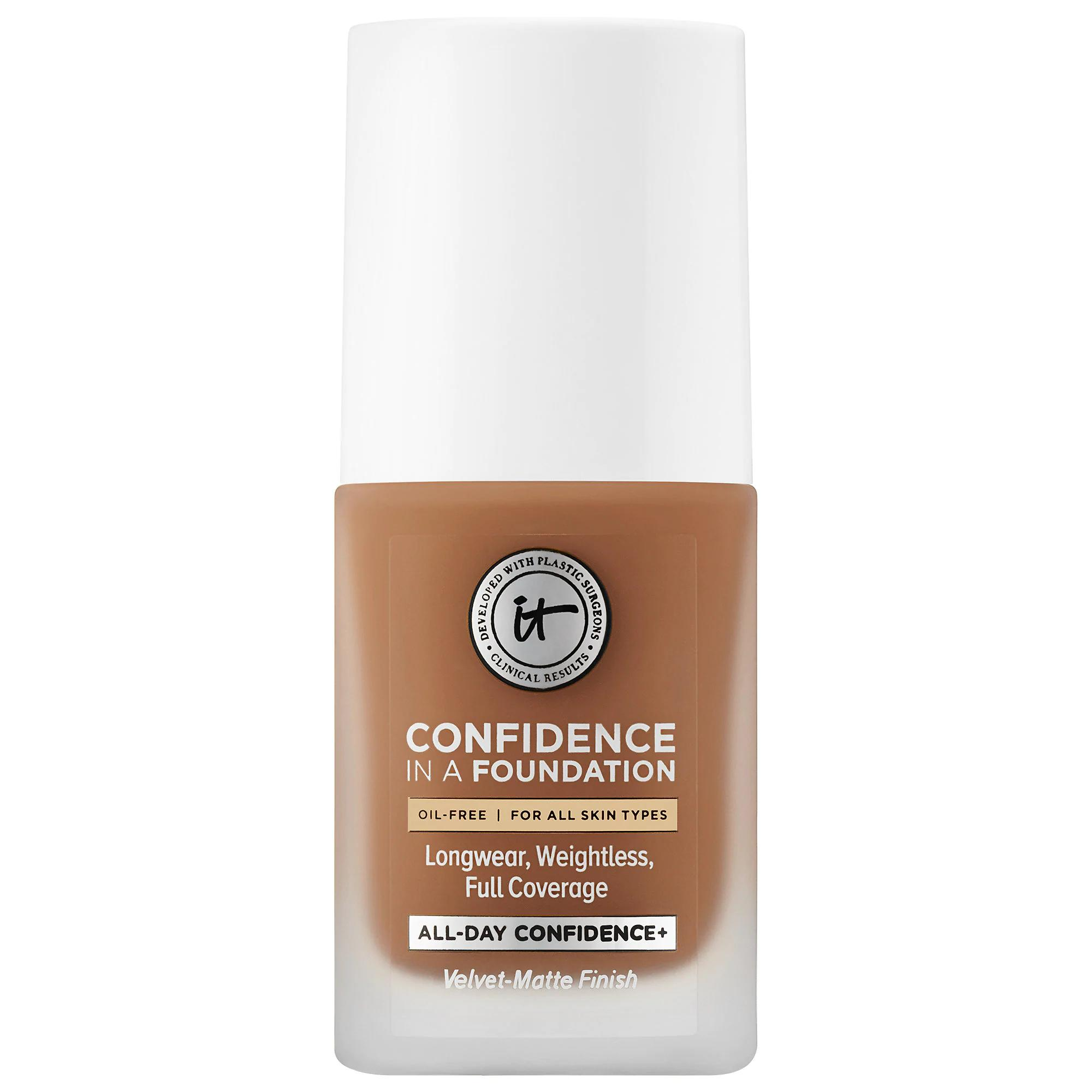 IT Cosmetics Confidence in a Foundation Rich Natural 425