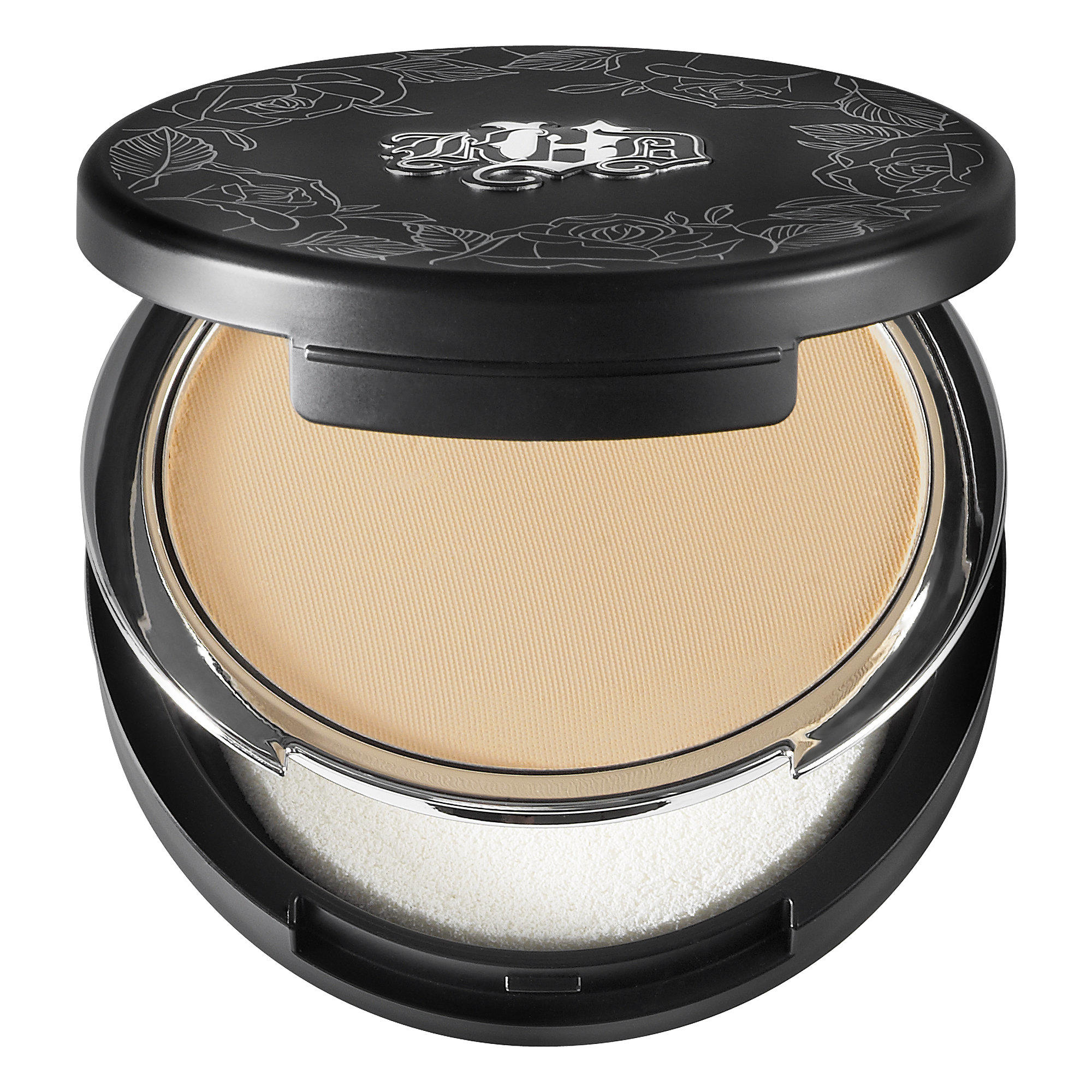 Kat Von D Lock-It Tattoo Powder Foundation Medium 53
