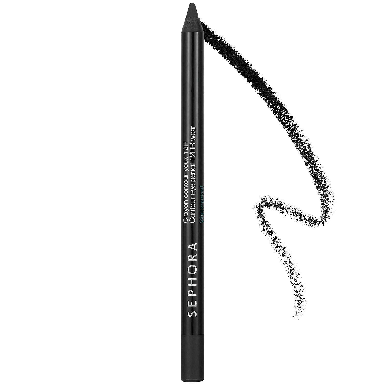 Sephora Collection Contour Eye Pencil 12hr Wear Waterproof Black Lace 01 Mini