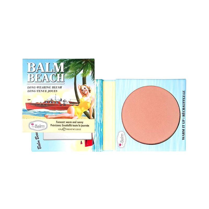 The Balm Long-Wearing Blush Balm Beach