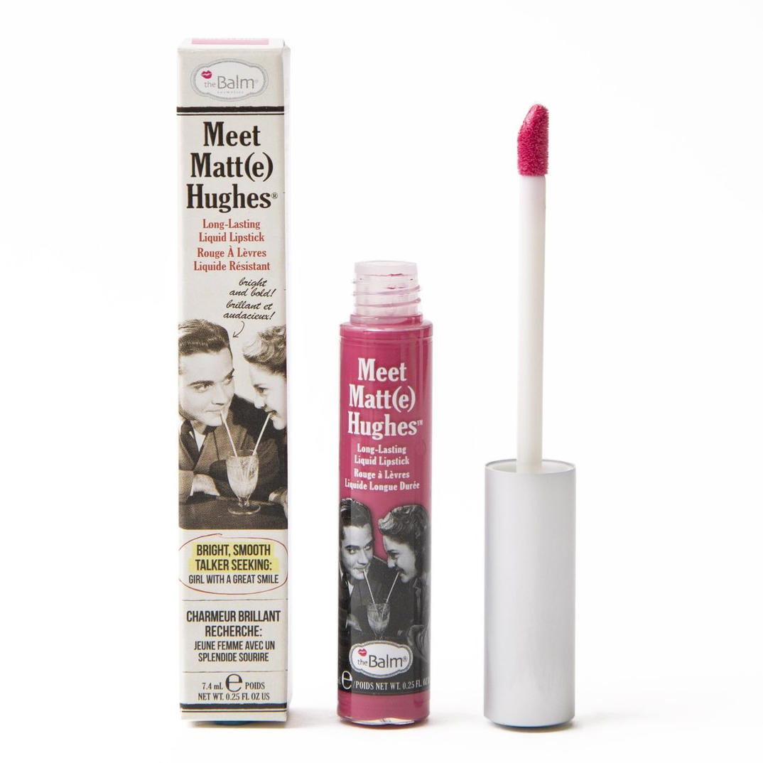 The Balm Meet Matt(e) Hughes Liquid Lipstick Chivalrous