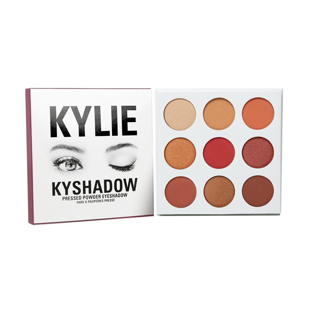 Kylie Kyshadow Pressed Powder Eyeshadow The Burgundy Palette