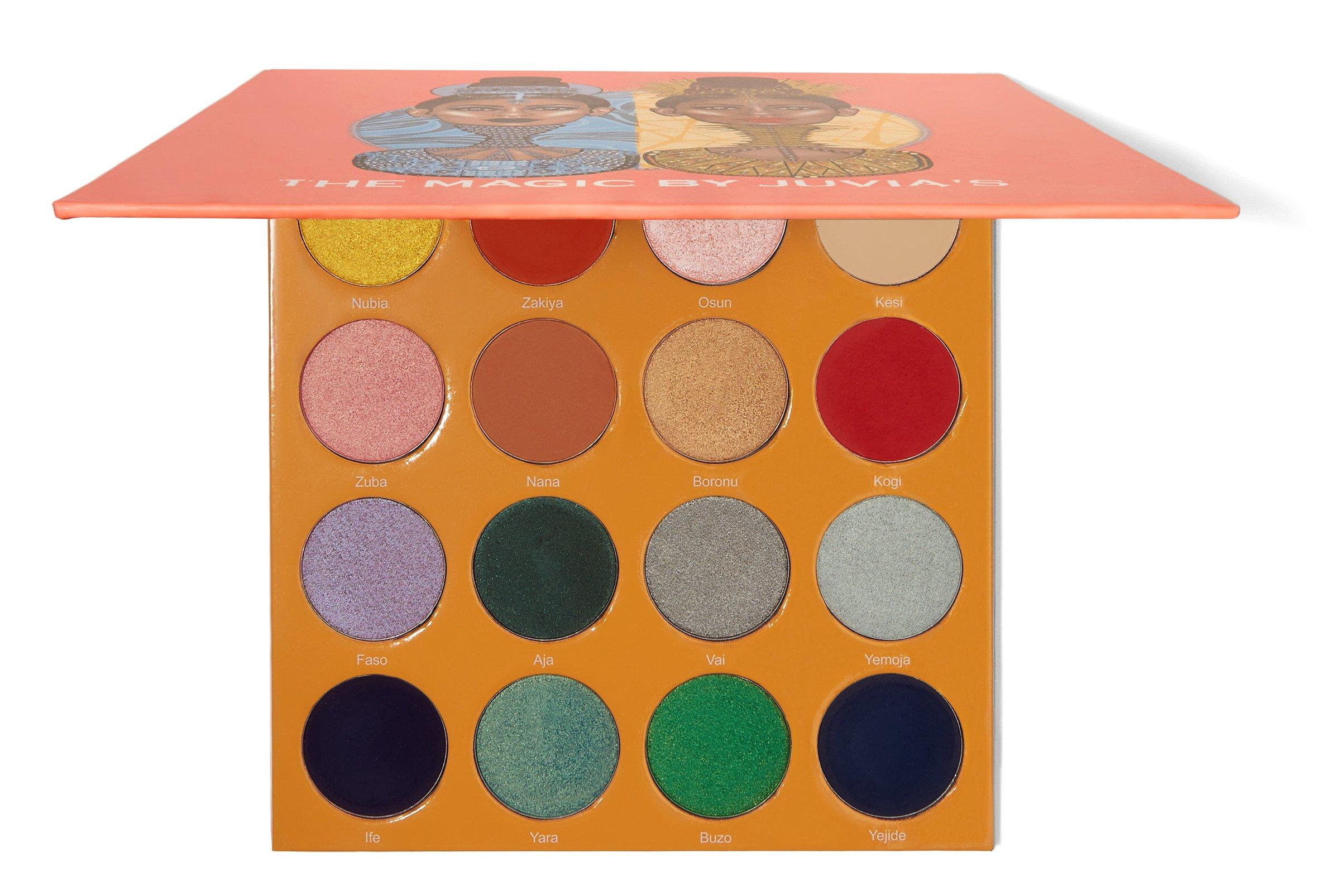 The Magic By Juvia's Eyeshadow Palette