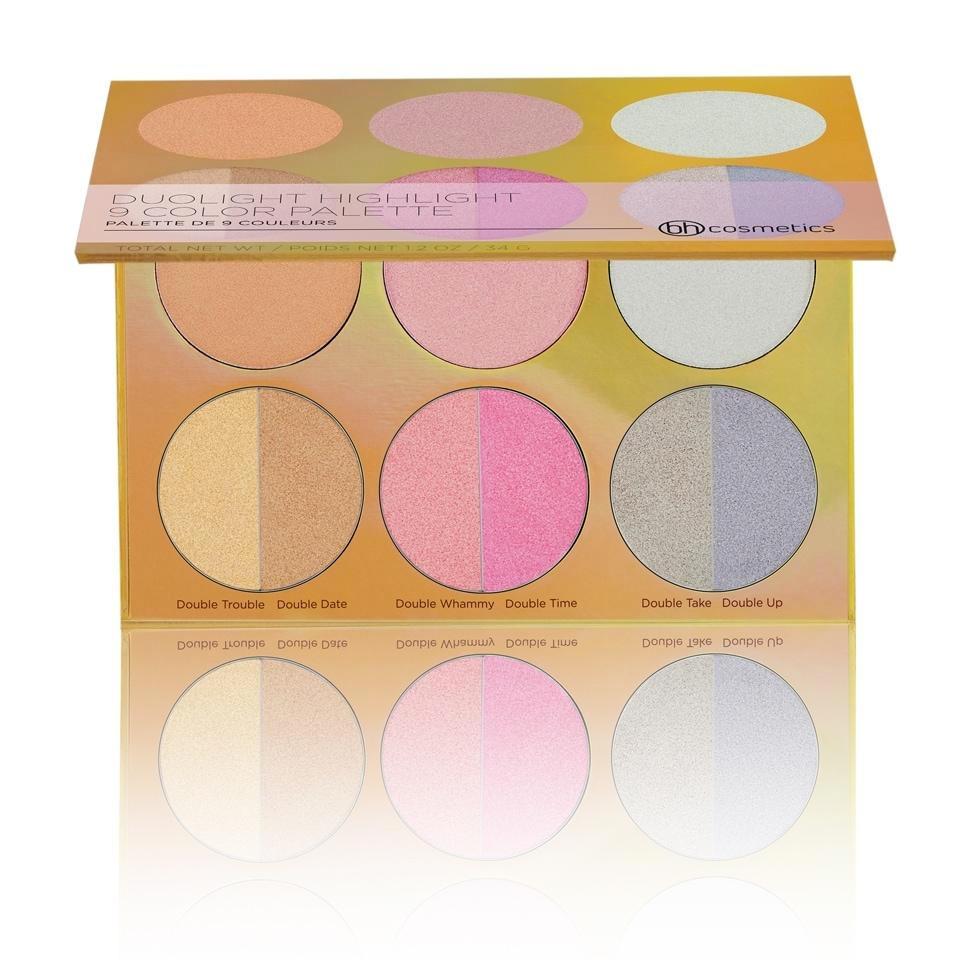 BH Cosmetics Duolight Highlight 9 Color Palette