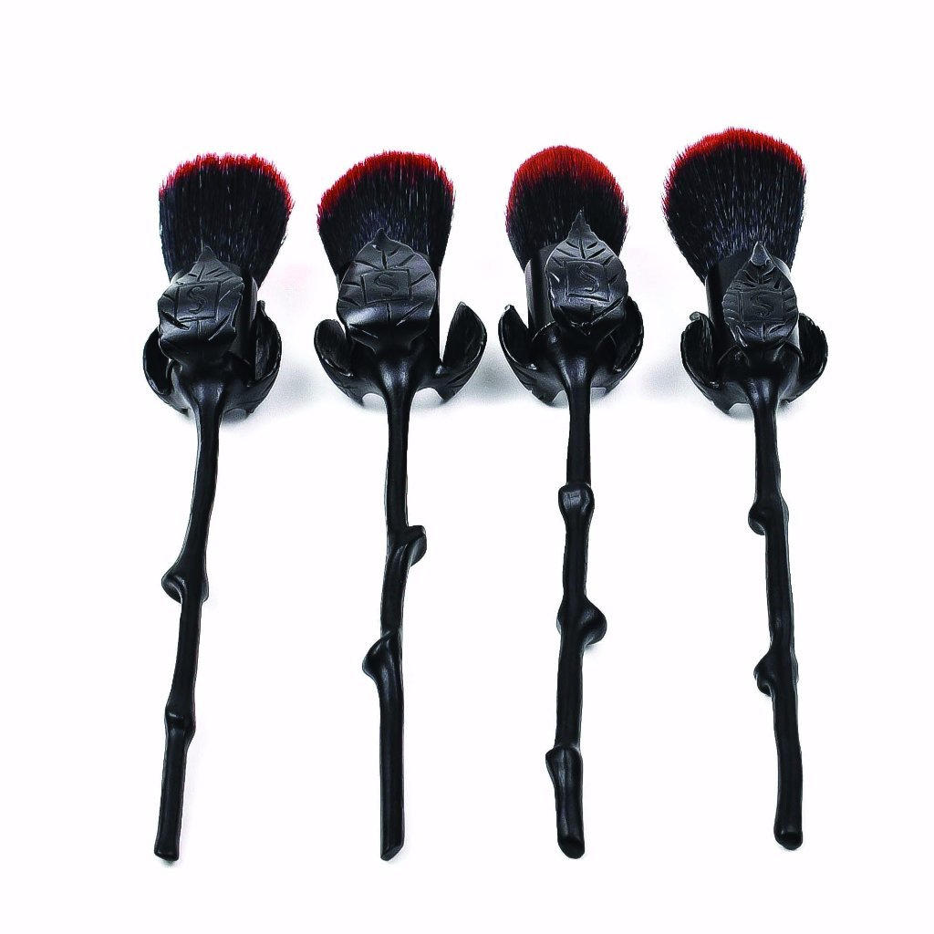 Storybook Cosmetics Roses Are Black Brush Set