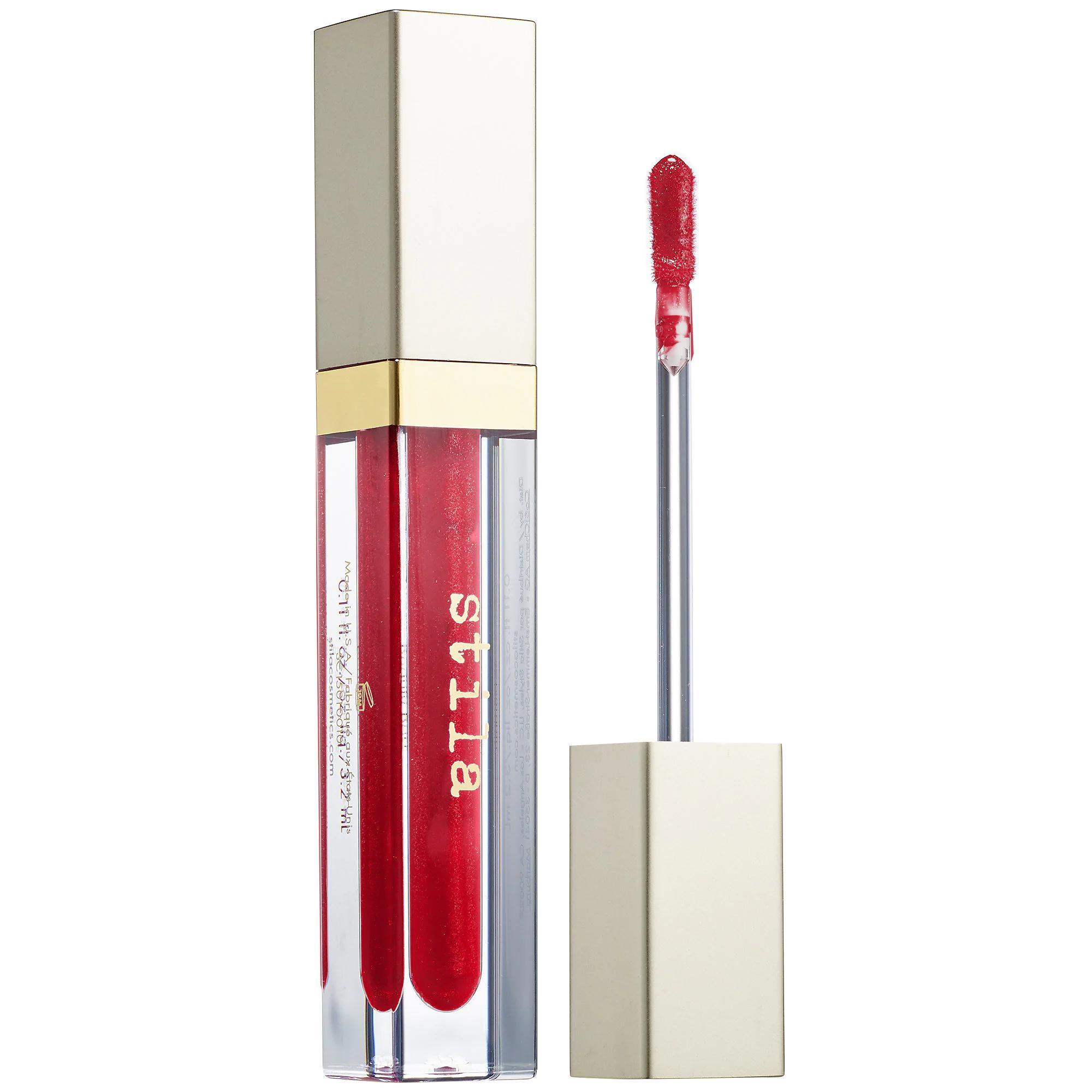 Stila Beauty Boss Lip Gloss In The Red