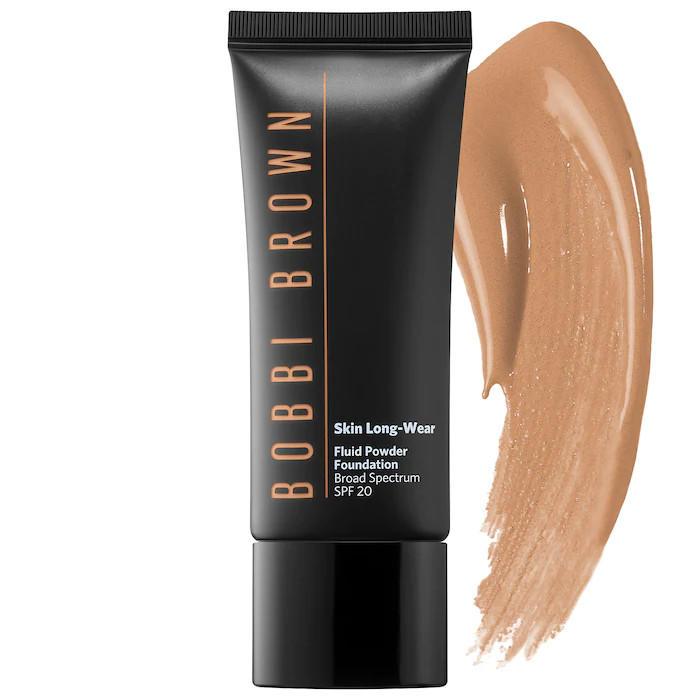 Bobbi Brown Skin Long-Wear Fluid Powder Foundation Warm Almond
