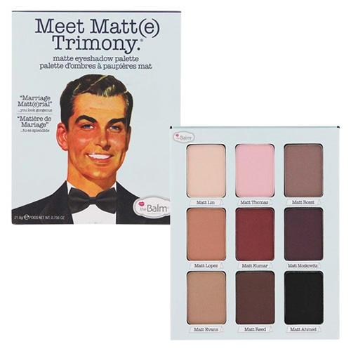 The Balm Eyeshadow Palette Meet Matt(e) Trimony