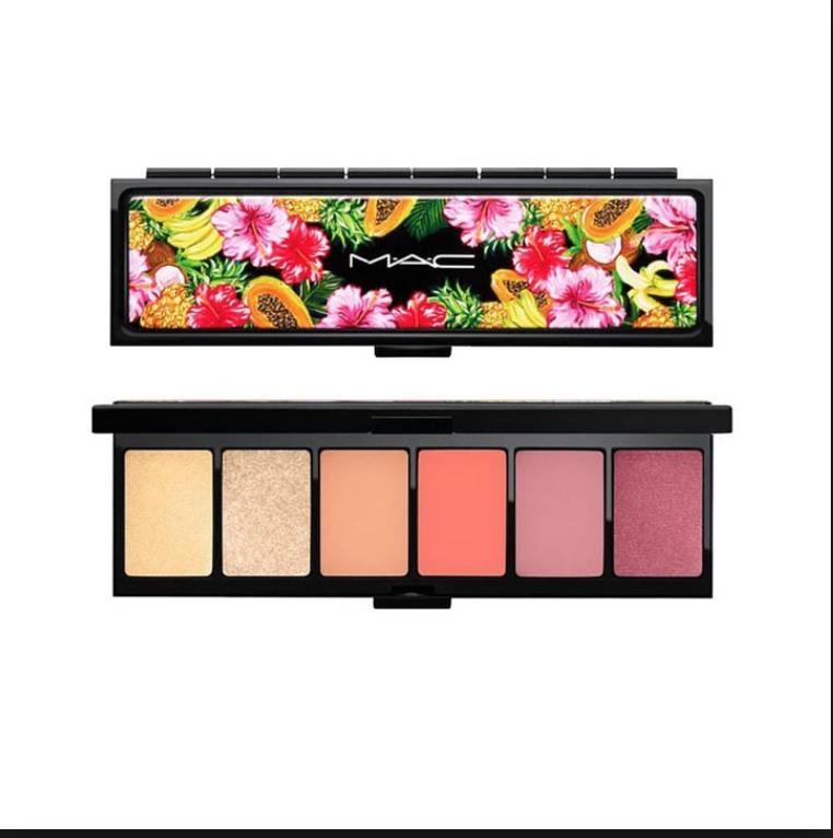 MAC Oh My Banana Palette Tutti Frutti Collection
