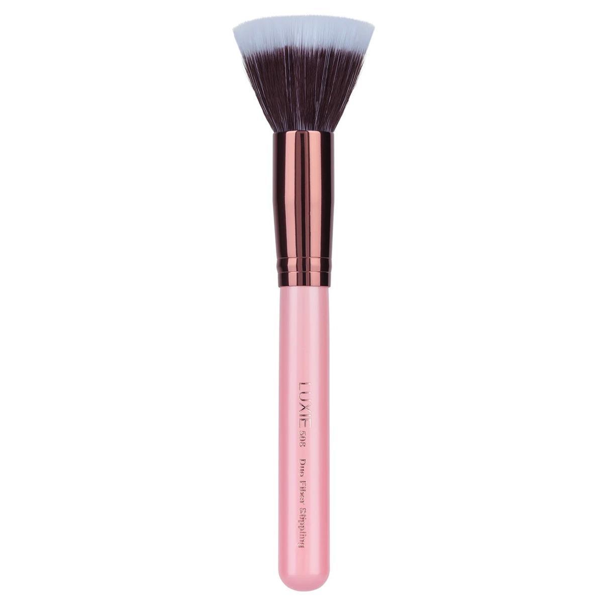LUXIE Duo Fiber Stippling Face Brush 508