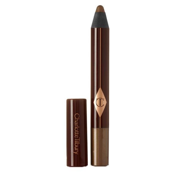 Charlotte Tilbury Eyeshadow Pencil Amber Haze For Brown Eyes Night