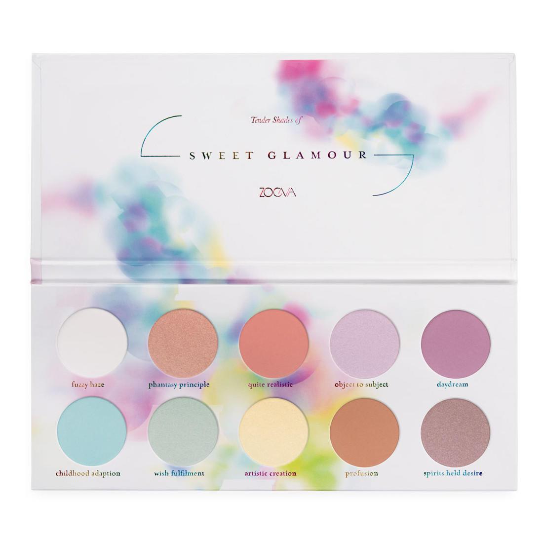 Zoeva Eyeshadow Palette Sweet Glamour