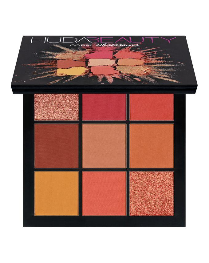 Huda Beauty Obsessions Eyeshadow Palette Coral