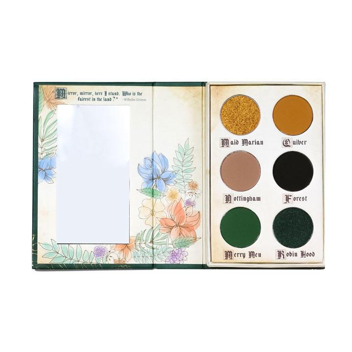 Storybook Cosmetics Fairy Tales Eyeshadow Palette Robin Hood