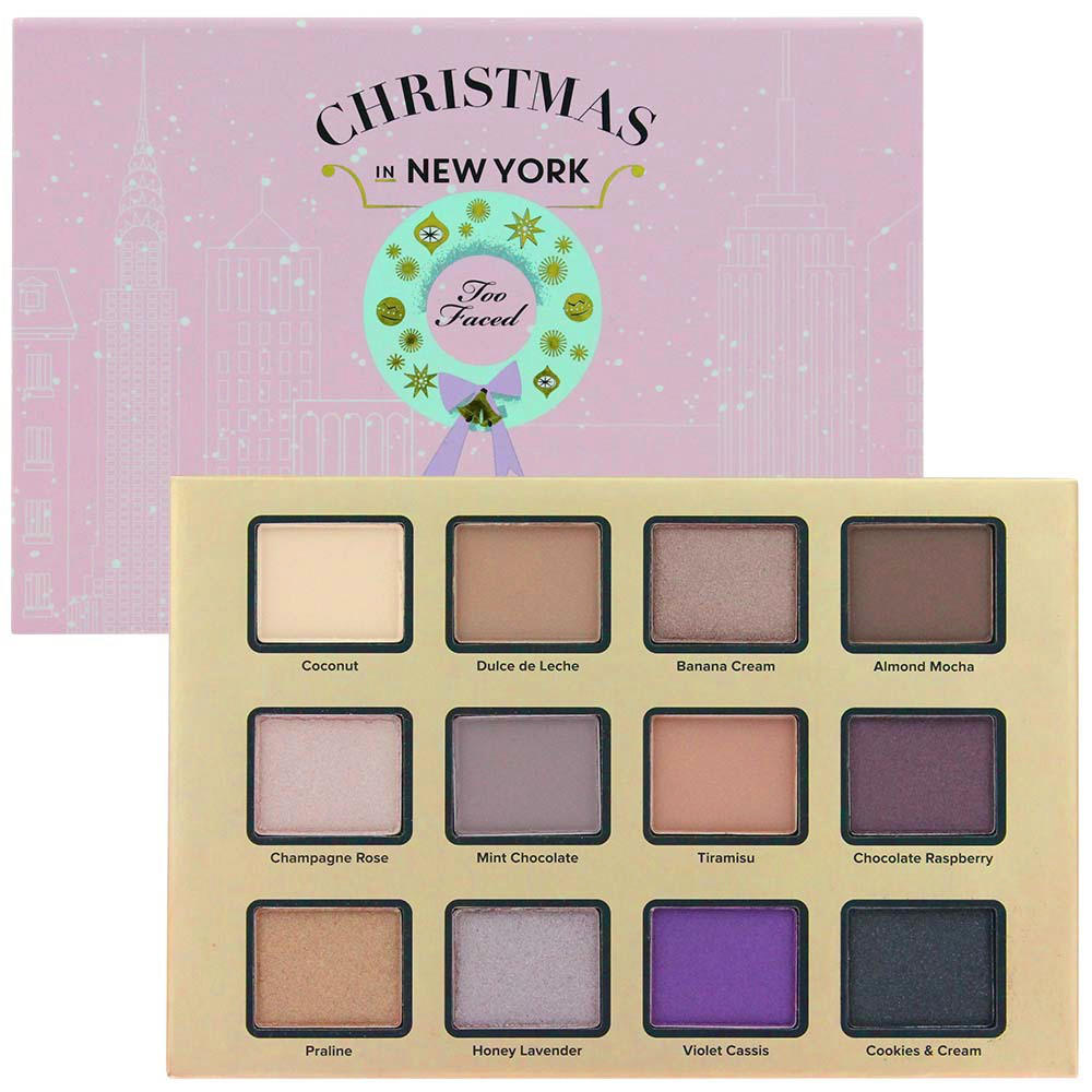 Too Faced Merry Macarons Eye Palette Christmas In New York