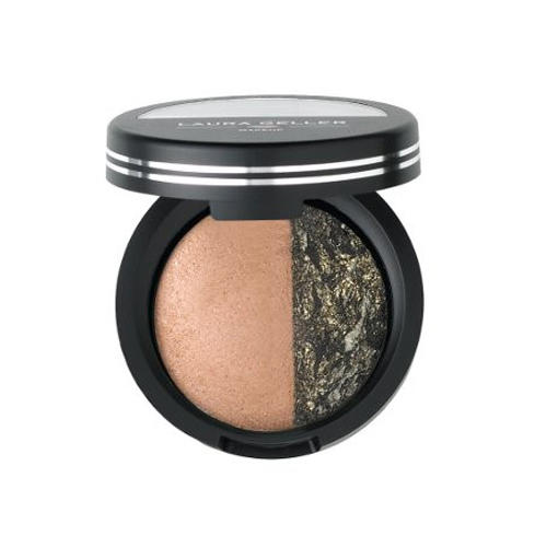 Laura Geller Sateen Shadow/Eye Rimz Sateen Praline & Bewitching Bronze