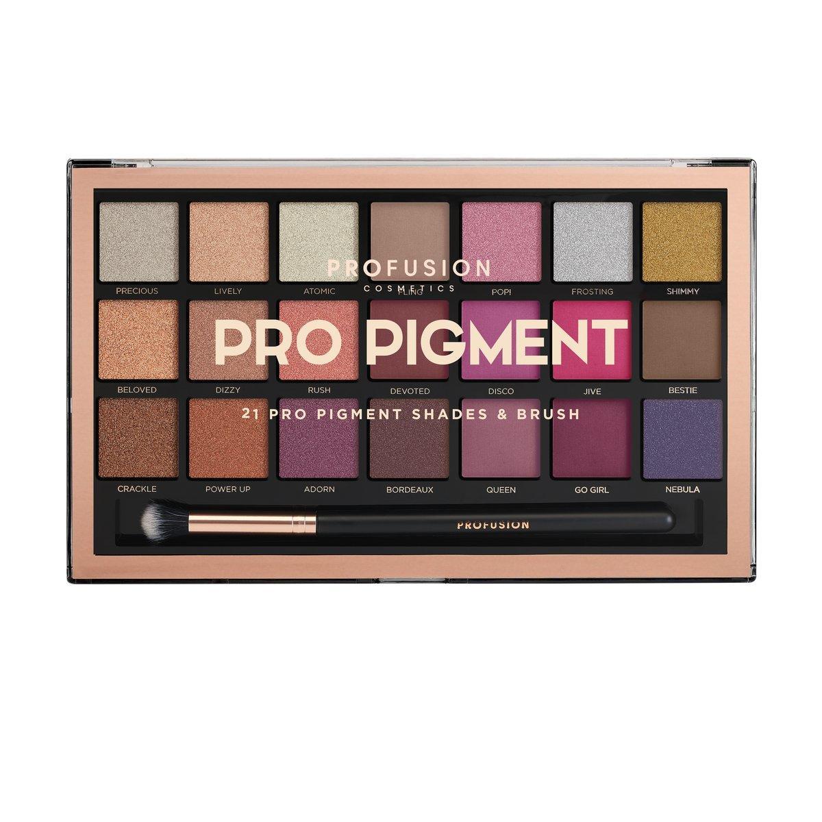 Profusion Cosmetics Pro Pigment Palette
