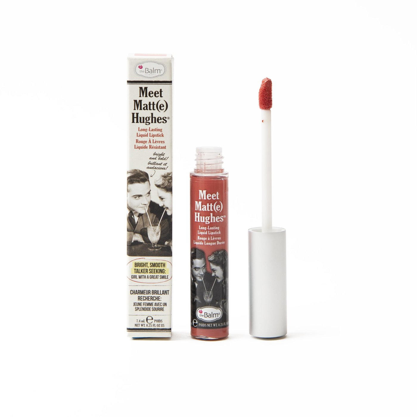 The Balm Meet Matt(e) Hughes Liquid Lipstick Honest