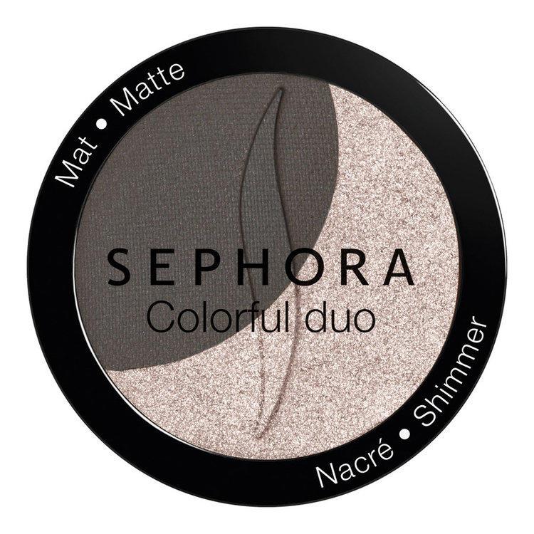Sephora Colorful Duo Eyeshadow No. 07 (chamapagne & cocoa)