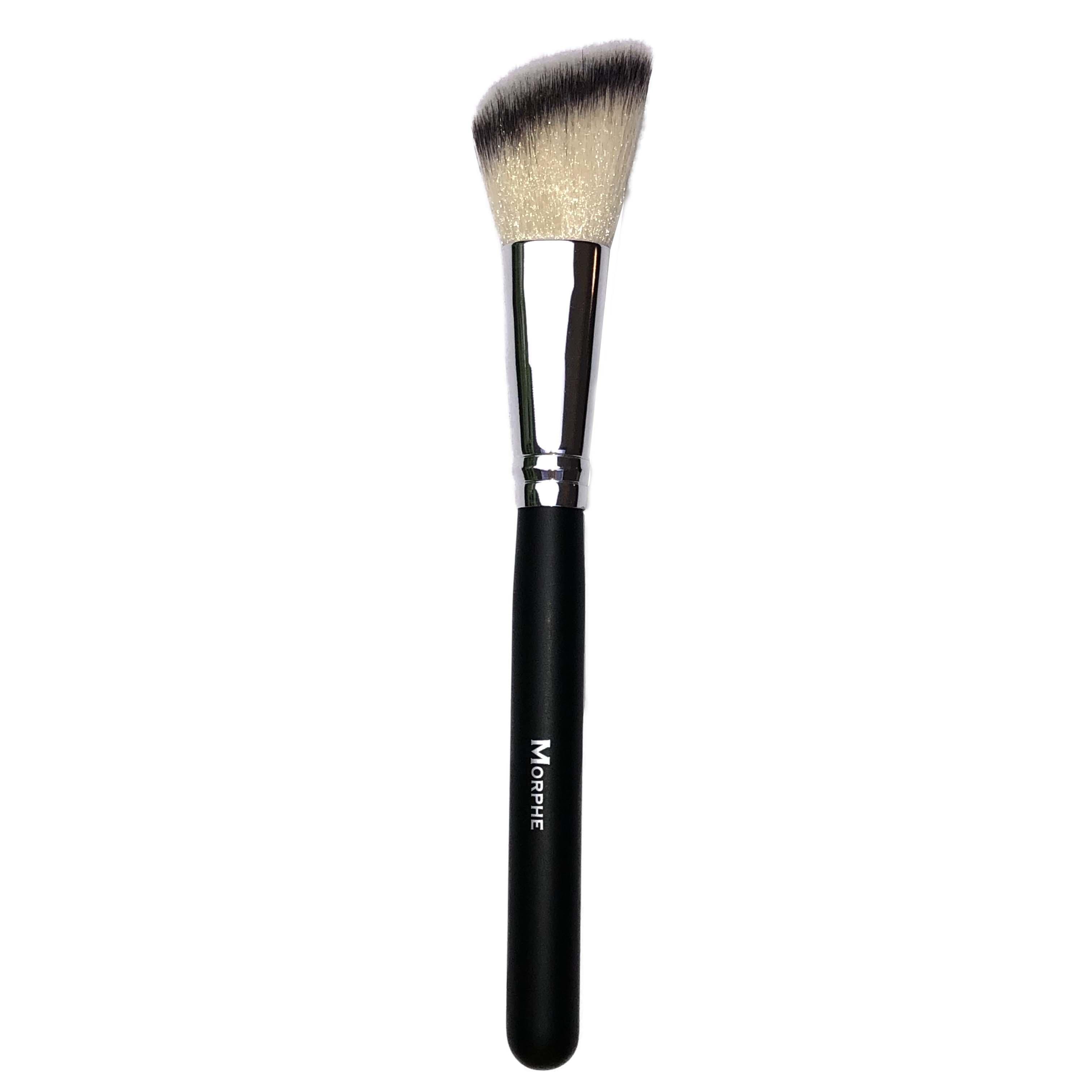Morphe Large Fluffy Blush Brush Black