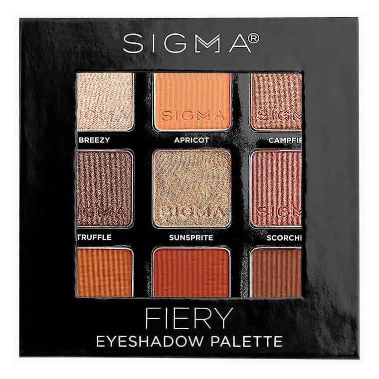 Sigma Eyeshadow Palette Fiery