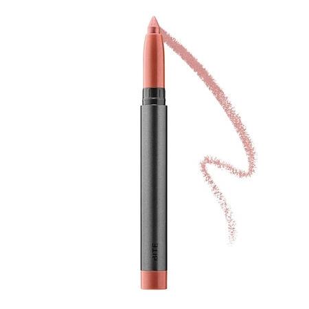 Bite Beauty Crystal Creme Shimmer Lip Crayon Rose Glace