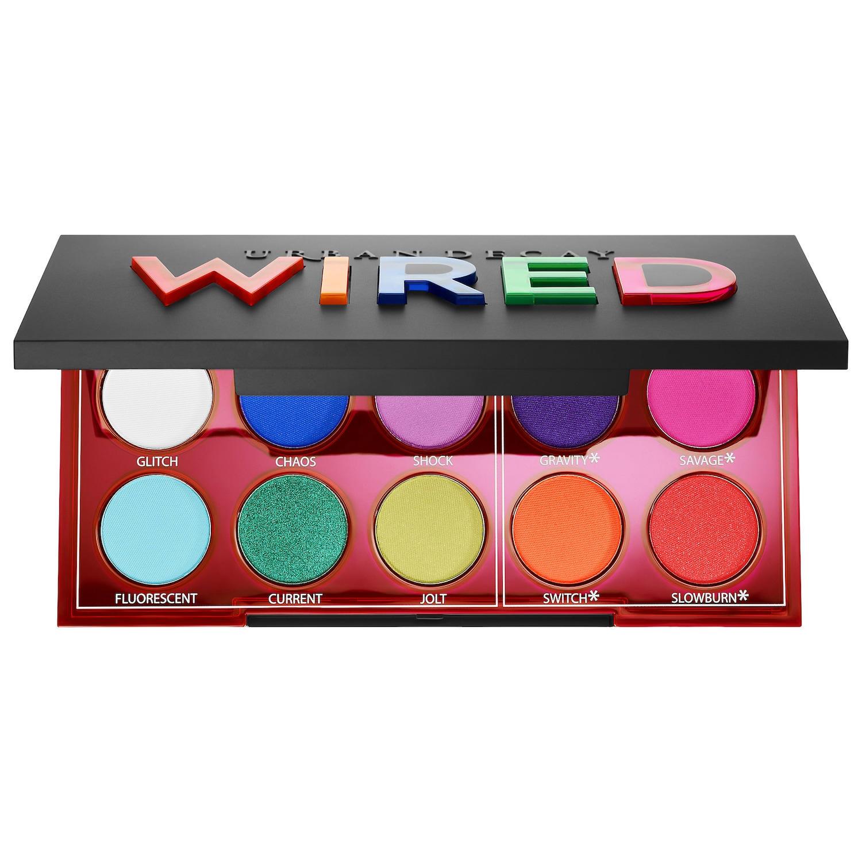 Urban Decay Wired Pressed Pigment Eyeshadow Palette