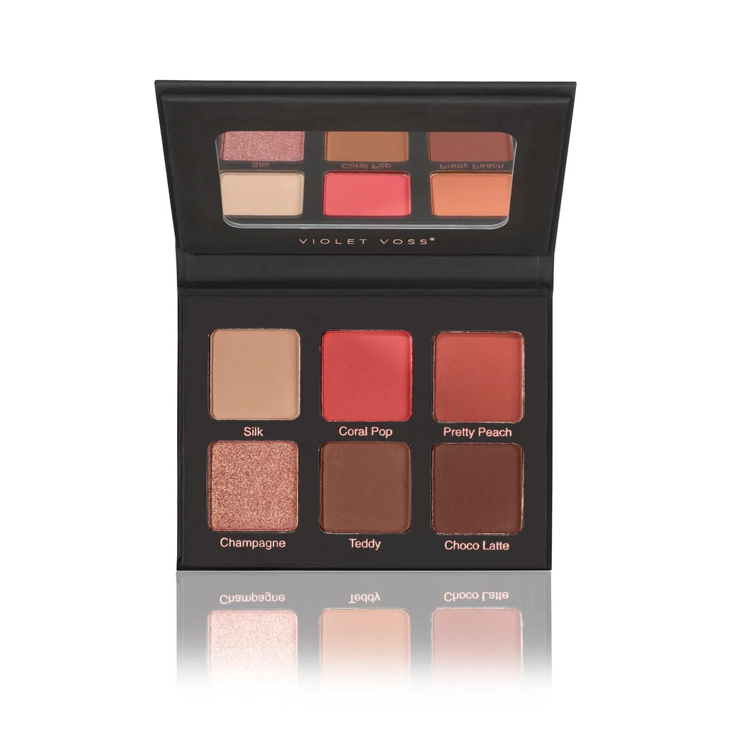 Violet Voss Coral Pop Eyeshadow And Pressed Pigment Palette
