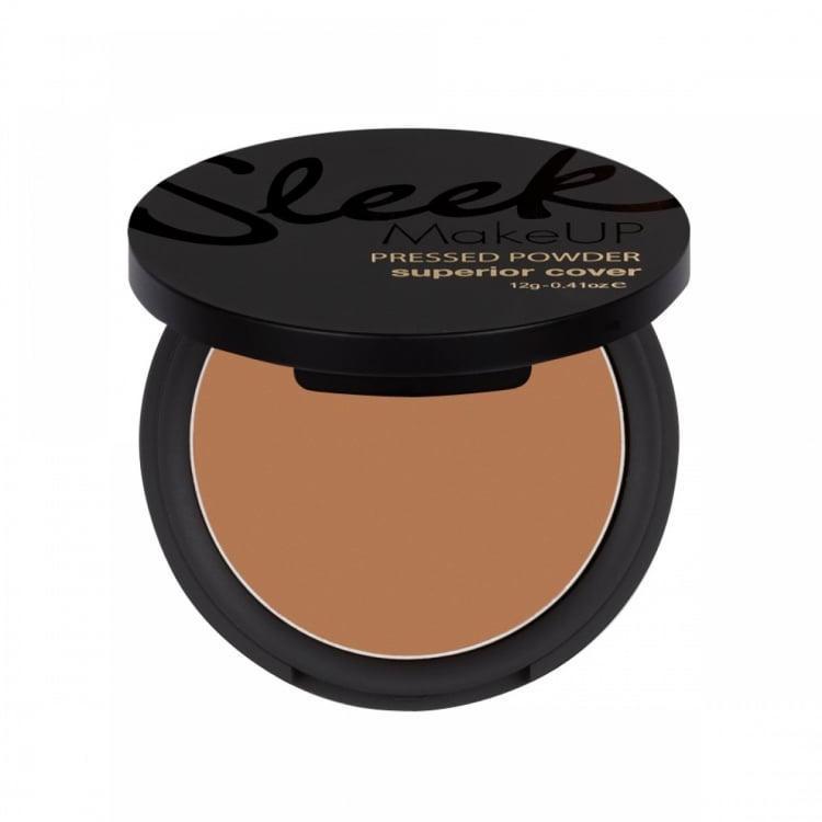 Sleek Makeup Superior Cover Pressed Powder Brown Velvet 108