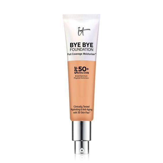 It Cosmetics Bye Bye Foundation Full-Coverage Moisturizer Neutral Tan