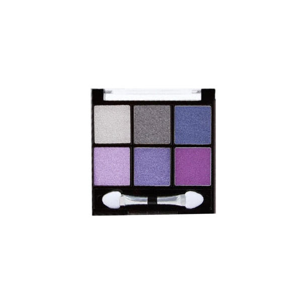 BH Cosmetics 6 Color Eyeshadow Palette Foil Eyes Cool To Go