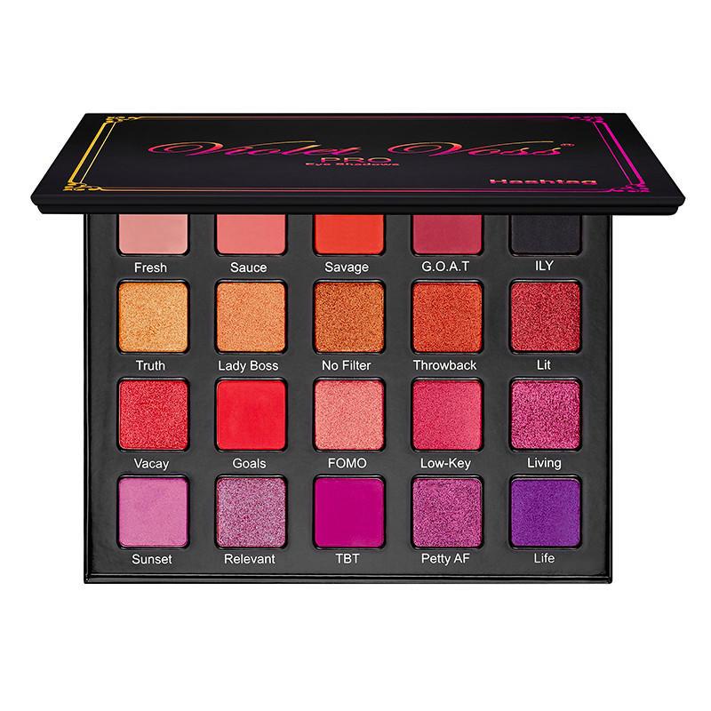 Violet Voss Pro Eyeshadow Palette Hashtag
