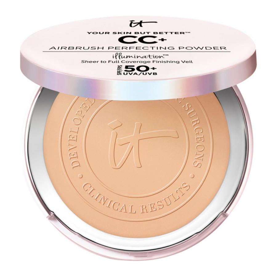 IT Cosmetics YSBB CC+ Airbrush Perfecting Powder Illumination Tan