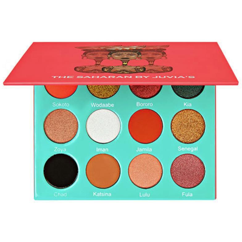 Juvia's Eyeshadow Palette The Saharan