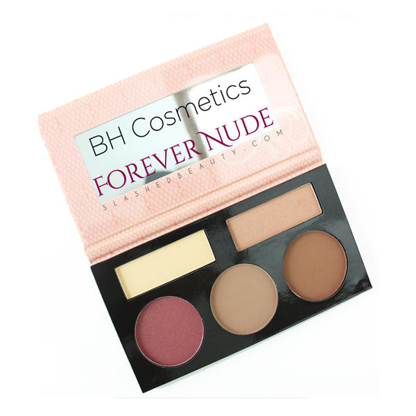 BH Cosmetics Forever Nude Contour Highlight & Blush Palette