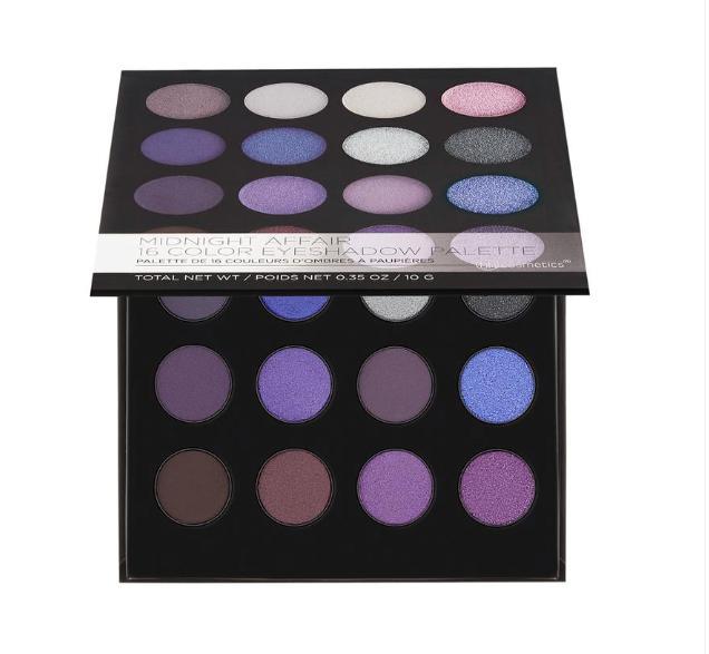 BH Cosmetics Midnight Affair 16 Color Eyeshadow Palette