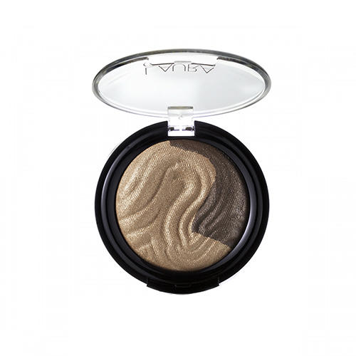 Laura Geller Baked Eclipse Eyeshadow Duo Prosecco/Cashmere