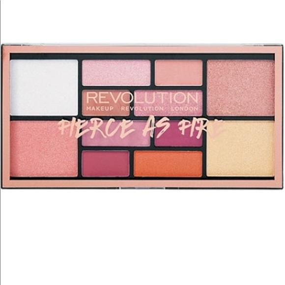 Revolution Fierce As Fire Palette