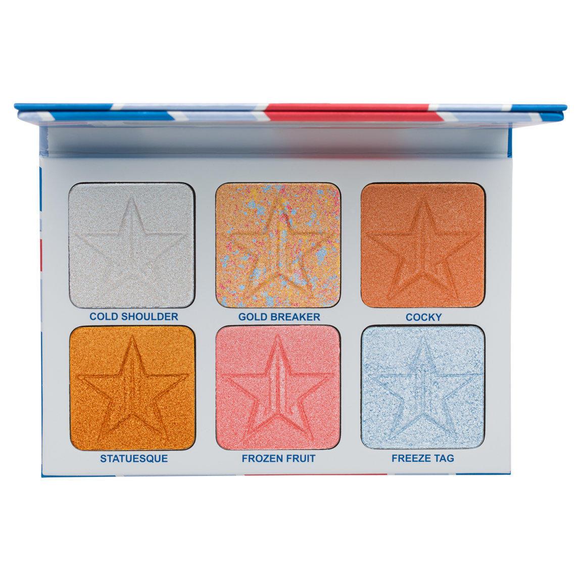 Jeffree Star Skin Frost Pro Palette Brain Freeze