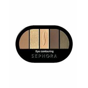 Sephora Colorful 5 Eye Contouring Palette Tan No. 17