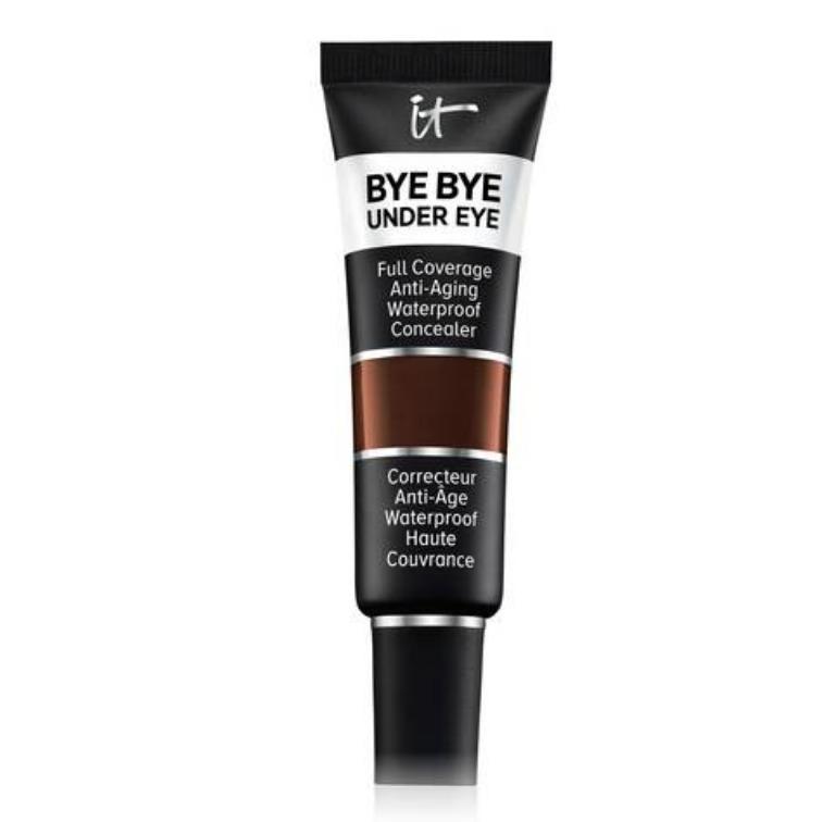 IT Cosmetics Bye Bye Under Eye Full Coverage Anti-Aging Waterproof Concealer 45.5 Deep Ebony