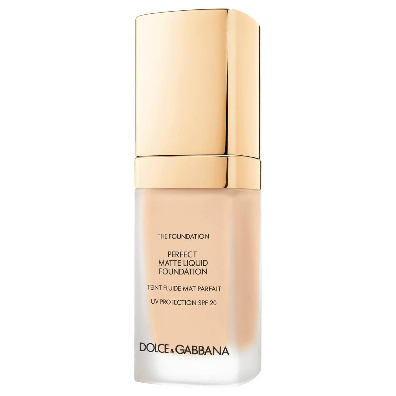 Dolce & Gabbana Perfect Matte Liquid Foundation Caramel 110