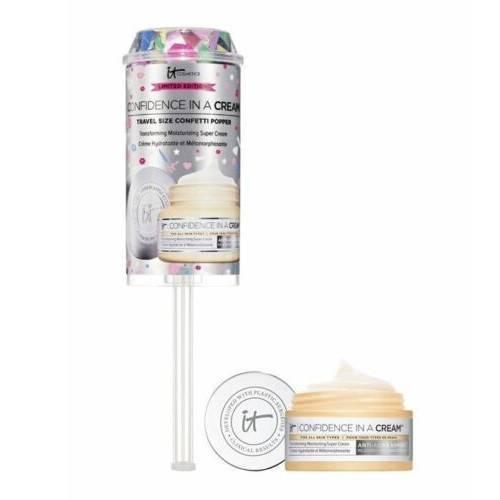 It Cosmetics Confidence In A Cream Travel Size Confetti Popper