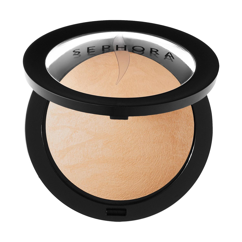 Sephora MicroSmooth Baked Foundation Face Powder Medium Beige 25