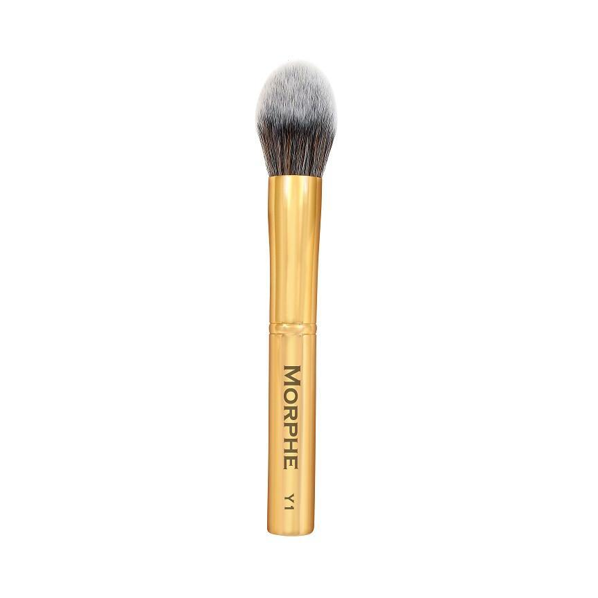 Morphe Precision Pointed Powder Brush Y1 Gold Collection