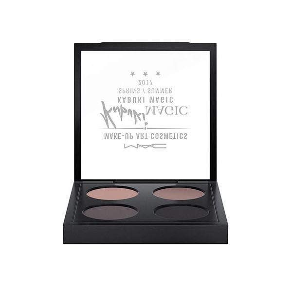 MAC Dazzleshadow X4 Palette Kabuki Magic Collection The Best Of Everything