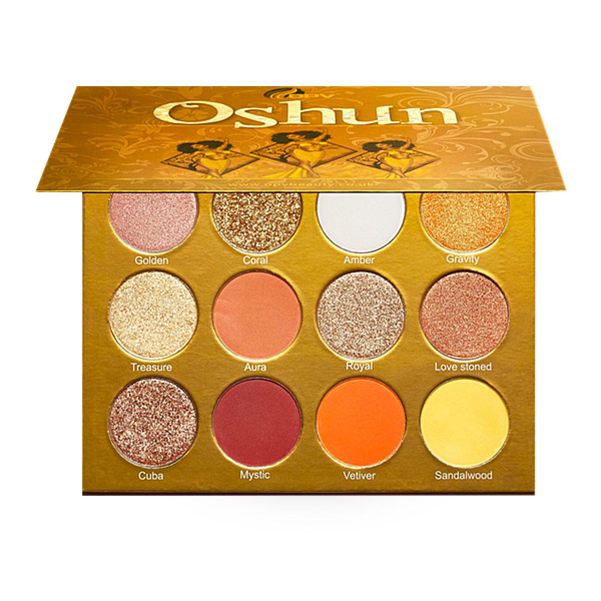 OPV Beauty Oshun Eyeshadow Palette